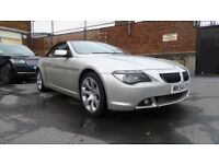 BMW 645 ci Convertible M sport 4.4L V8 High performance M6 Exhaust long MOT year 2004 quick sale