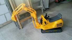 Toys for kids Caterpillar riper excavator
