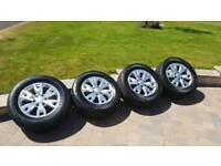 """Ford ranger wildtrak 18"""" alloys with cooper discoverer tyres"""
