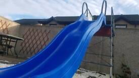 Slide, single swing and climbing frame 40£ono