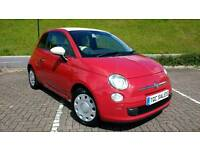 Lovely 2009 very rare Fiat 500 1.3 diesel with FSH , full MOT and three months warranty