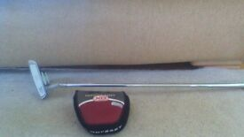 Odyssey two ball putter with head cover