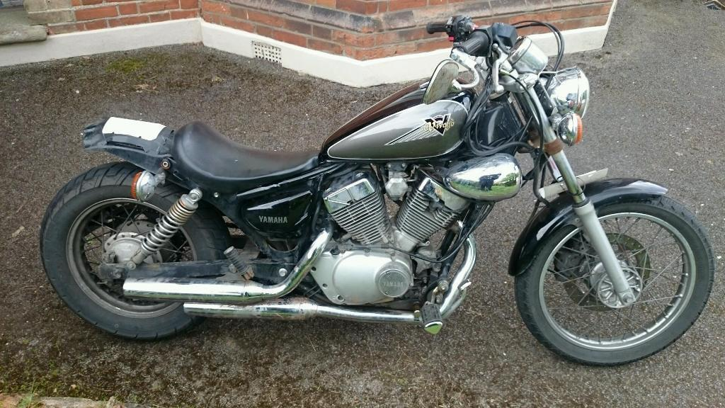 yamaha virago xv 125 bobber style in chelmsford essex. Black Bedroom Furniture Sets. Home Design Ideas