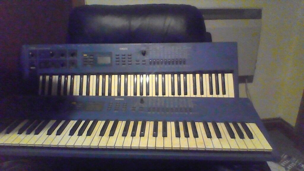 2 Yamaha Cs1x Control Synthesizer's - Vintage - Classic 90's Trance sounds  | in Galashiels, Scottish Borders | Gumtree