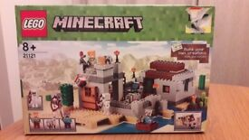 Lego minecraft set 21121 The Desert Outpost