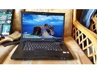 fujitsu amilo li3710 windows 7 3g memory 300g hard drive webcam wifi charger new keyboard