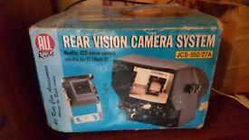 12 or 24 v rear vision reversing camera system