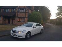 Mercedes-Benz E Class Coupe - Diamond White Pearlised Metallic!