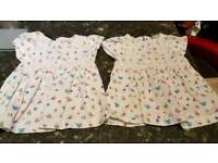 0-3 months baby girls clothing one set each left