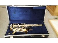 Amati Kraslice Alto Saxophone with case and reeds