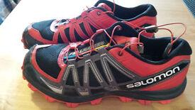 Salomon Fellraiser fell running shoes, size 8.5 - only £30