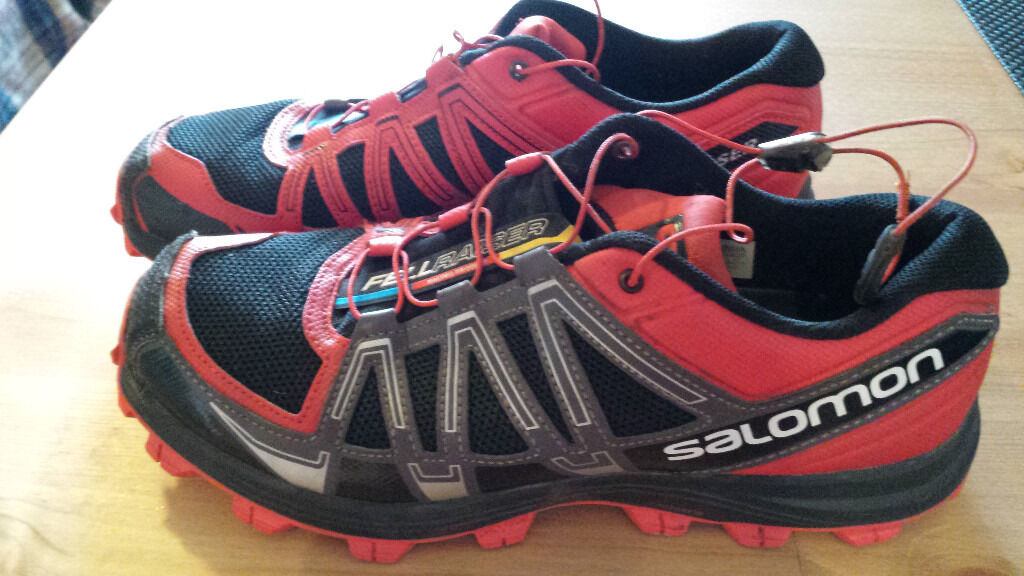Salomon Fellraiser fell running shoes, size 8.5only30in Whitechapel, LondonGumtree - Top quality fell running shoes, only worn once. Bought from Run & Become. Yours for £30. If you are interested come and try them on