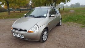 FORD KA Collection 2004 silver/gold 1.3cc, Manual in very good condition overall - Bargain