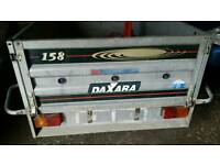 dextra 158 tipping trailer