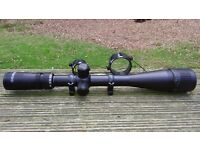 Tasco 6 - 24 X 42 Rifle scope with Lynx steel QD mounts