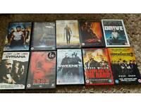 DVD Action Bundle - 10 DVDs