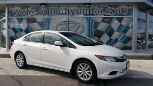 2012 Honda Civic EX-L-ALL IN PRICING-$130 BIWKLY+HST/LICENSING