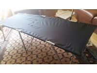 Two Sunn Camp camp beds for sale