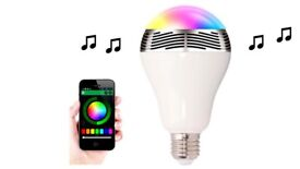 Smart light and speaker with free delivery