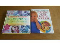 2 x Annabel Karmel books