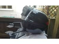 Honda CBF luggage carrier+box