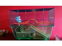 Cage for gerbil/mouse/hamster