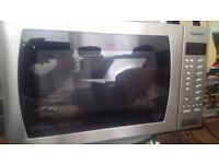 Panasonic inverter microwave oven Good working condition.