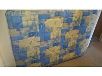 Mattress, small double (Width 120 x Length 190 cm) - Urgent