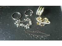Joblot of costume jewellery