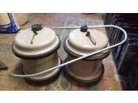 X2 29 litre Aquarolls and X1 handle