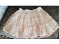 Girls Pink Tutu Skirt & Top BNWT Age 7-8