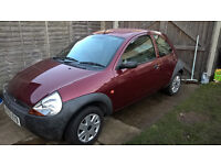 Ford Ka 1.3 -1 year MOT New clutch & exhaust