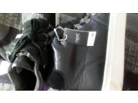 Size 6.5 Ladies black boots from NEXT