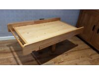 Mothercare Universal Cot Top Changer With Pull Out Drawer (Excellent Condition)