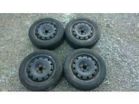 Winter wheels for Skoda fabia 195/55 R15
