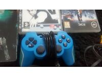 PS3 super slim 500GB BUNDLE like new with games and pads bargain!