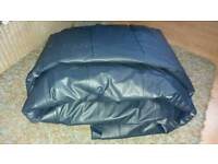 Double inflatable bed