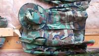 Woodland BDU for Airsoft or Paintball