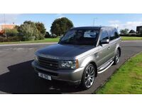 "Land Rover Range Rover Sport 2.7TD V6 auto 2007,22""Alloys,Black Leather,Privacy Glass,Cruise Control"