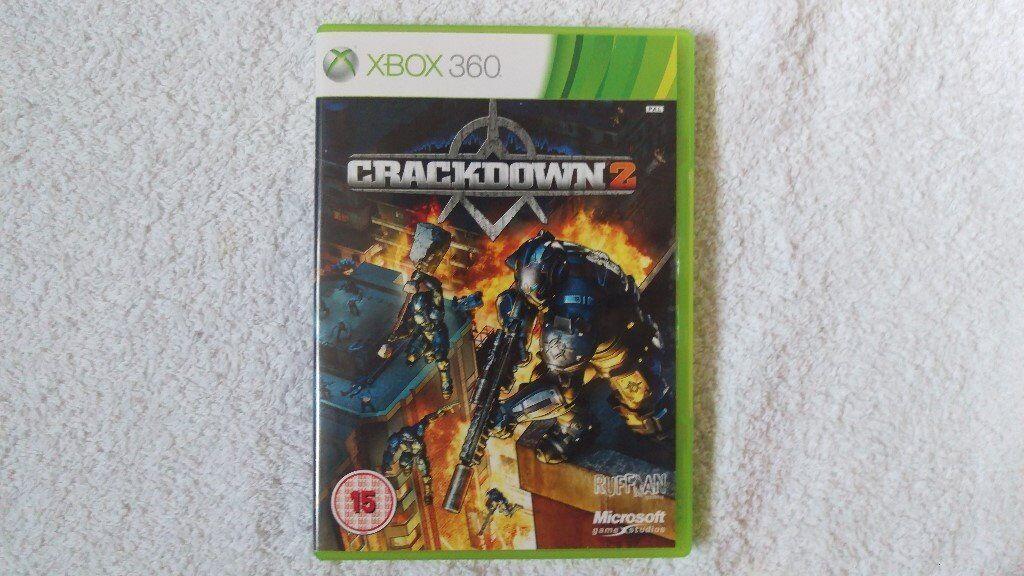 Crackdown 2 Xbox 360 Nottingham with Blueprint