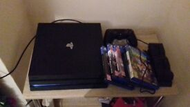 PS4 Pro 1TB + 5 games and a docking station