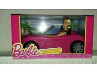 Barbie Glam Convertible Car (new)