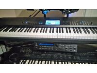 KORG KROME 88 WORKSTATION + FULL FLIGHT CASE GREAT CONDITION