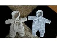 Baby boy or girl warm onesie newborn - unisex
