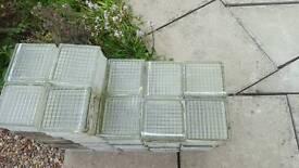 Vintage glass bricks