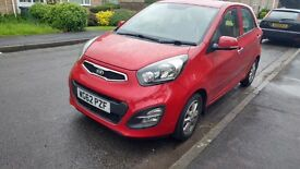 Picanto in excellent condition with very low mileage