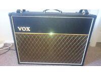"Vox AC30 vr valve reactor guitar amp 2x12"" for sale £250 obo"