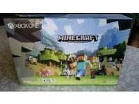 Microsoft Xbox One Minecraft Editiom BRAND NEW SEALS IN TACT