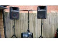 Dj / karaoke / VOCALIST setup