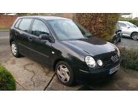VW POLO 4 door manual 2003